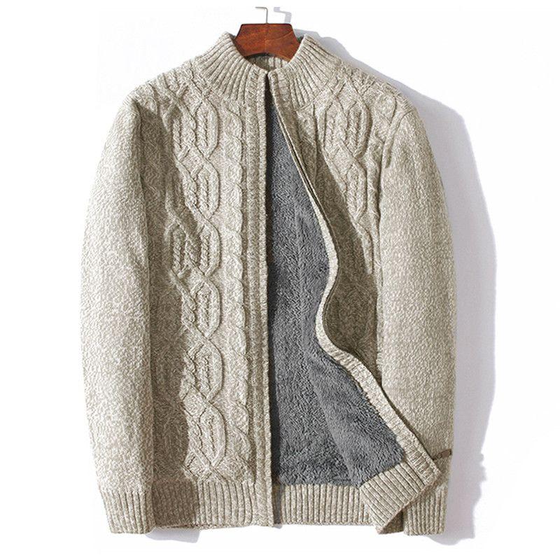 2020 ICPANS Plus Size 4XL 5XL 6XL 7XL Sweater Men Thicken Warm Wool Cashmere Winter Cardigan Turtleneck Male 2020 Outwear From Robertiu, $51.86 |