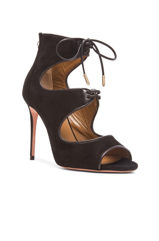 Sıcak satış-yaz seksi peep toe ince kadın gece kulübü parti ayakkabı kadın bayan stilettolar romen sandalet yüksek topuklu 11cm yarım bot ayakkabı
