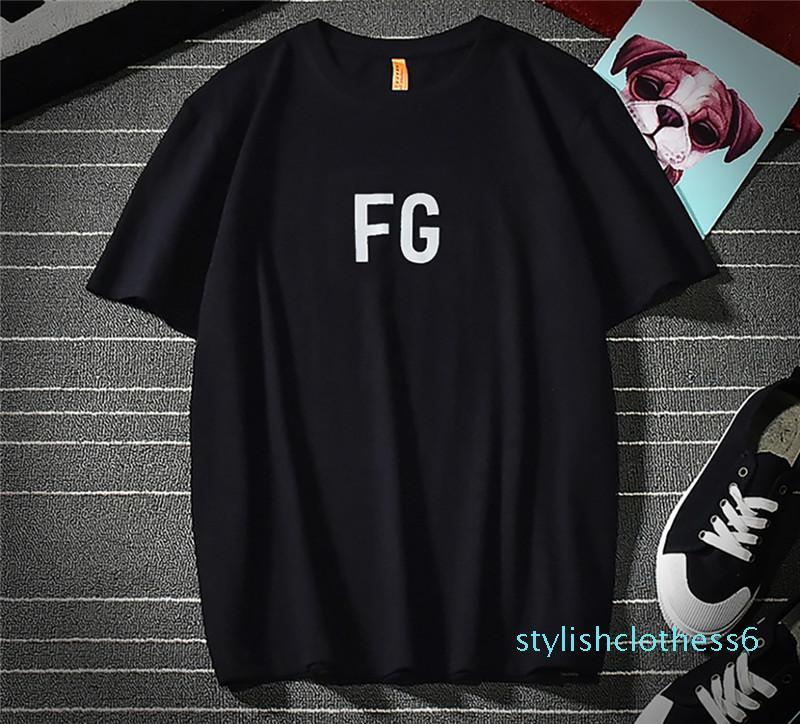 Allah Tişört Essentials 3M Yansıtıcı Hip Hop Streetwear Yaz Tee Of Bay Bayan Gömlek Kanye West Unisex SİS Korku 21253s06 Tops