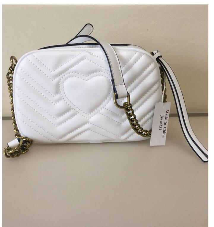 Messenger Quality Gold Femmes Sacs à main Nouvelle chaîne portefeuille B56 High 3Colors sac sac sacs sacs Sac Disco Soho Bandoulody Thauv