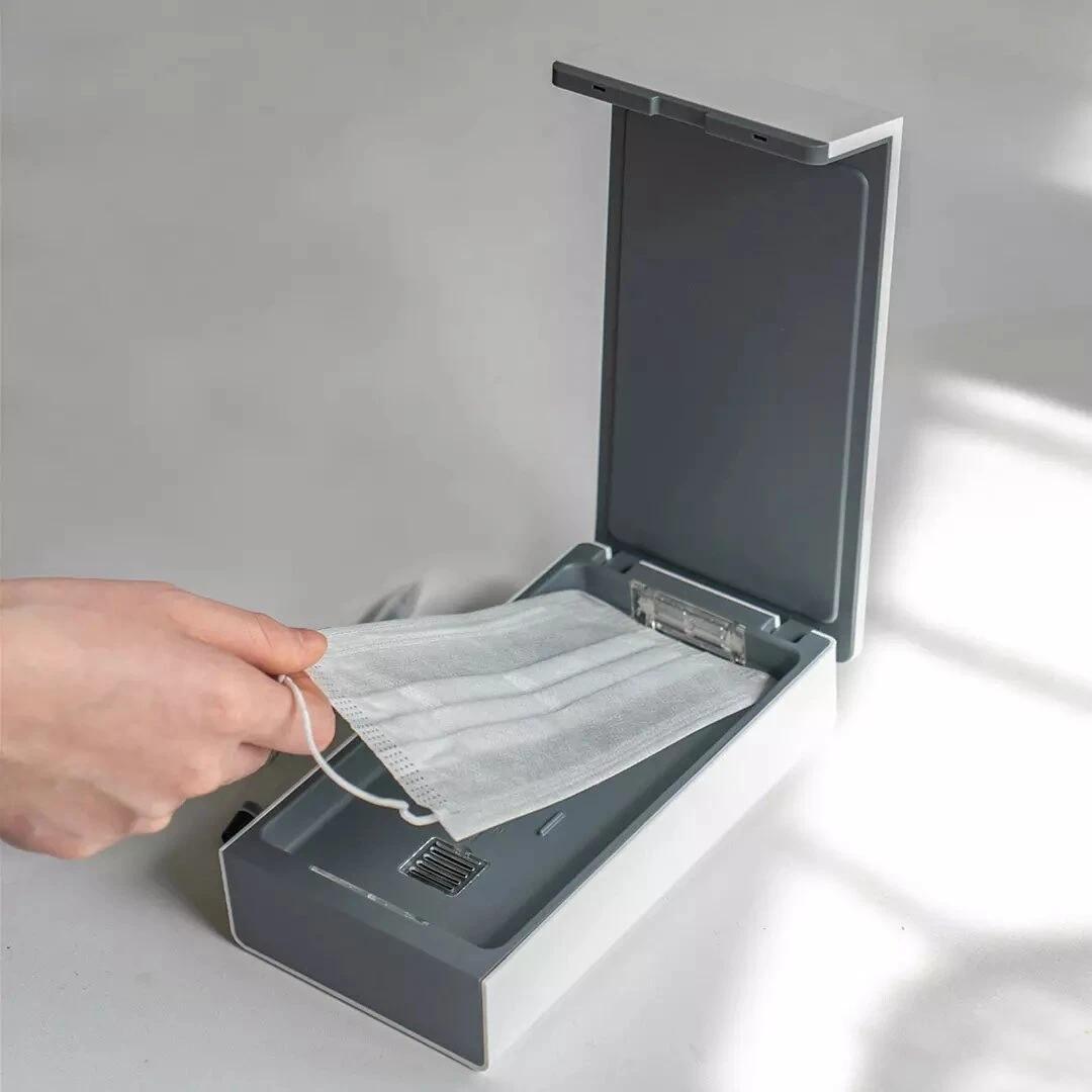 Xiaomi Youpin dan Adrtek UV Cep Telefonu Sterilizatörü Nötr Ultraviyole Dezenfeksiyon Kutusu Maske Sterilizatör Küçük UV Sterilizasyon Temizleme