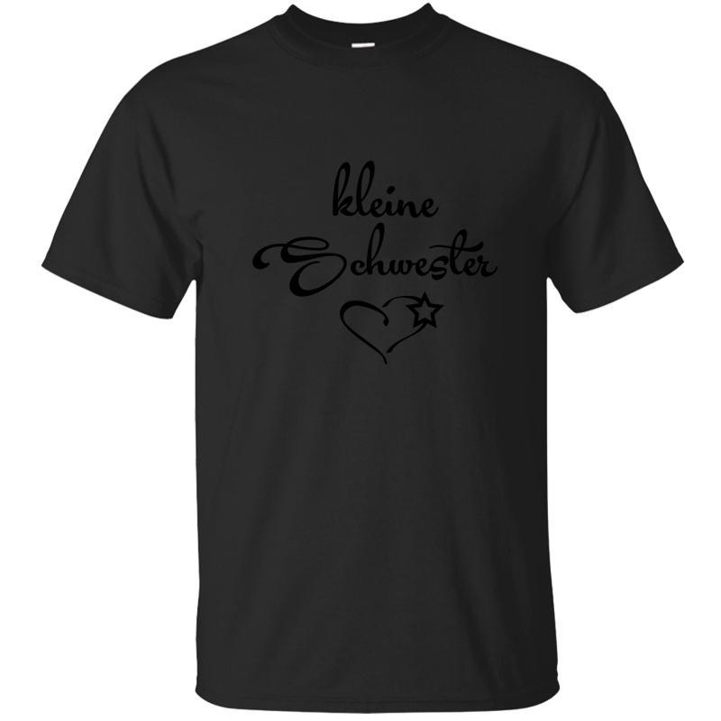 T-shirt Kleine Schwester Little Sister Homens T shirt para Men Mens Tamanho Camiseta Costume Verão engraçado S-5XL Projeto Tops Homme
