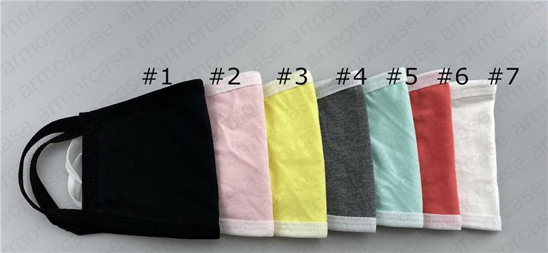 Visage Stock adultes colorés en Lavable respirateurs double pont antipoussière coton Tredny bouche couverture Masques Respirant Bouche moufles D4805
