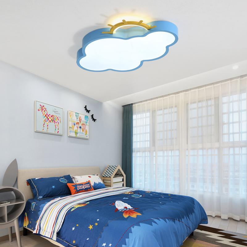 Потолочные светильники Облако тени потолочное освещение для спальни Детская комната Детская комната Современный потолочный светильник plafonnier привело блест