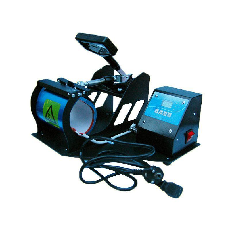 Sublime Cup Coffee Mug DIY Fotoğraf Baskısı 300w Dijital Kupa Pişirme Termal Transfer Makinesi A09 için Isı Presi