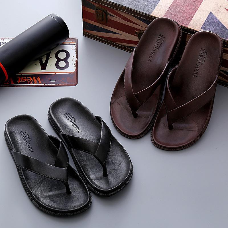 Mazefeng Marca 2020 nueva llegada verano de los hombres de las chancletas de alta calidad de la playa de las sandalias antideslizantes Zapatos Hombre Zapatos Casual mayorista