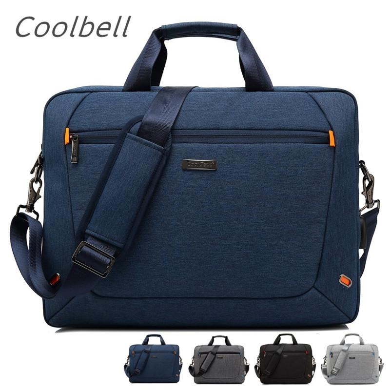"2020 New Coolbell Brand Messenger Bag For Laptop 15"",15.6"",17"",17.1"",17.3"" Compute Handbag Notebook Bag, Free Drop Shipping 3038 T200720"