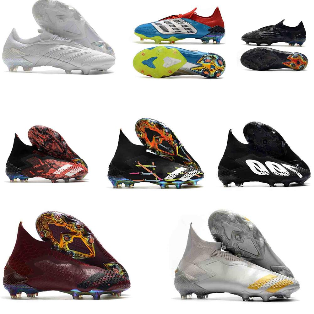 crampons chaussures de football CR7 Soccer Cleats Mercurial Superfly Predator Archive Soccer Shoes High Ankle predator mania Football Boots