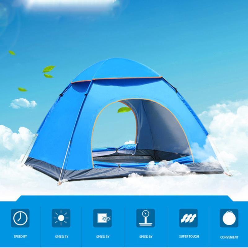 Camping automática -Up família Outdoor Tendas múltiplos modelos Tendas múltiplos modos facilmente abrir Ultra Luz Sombra instantâneo