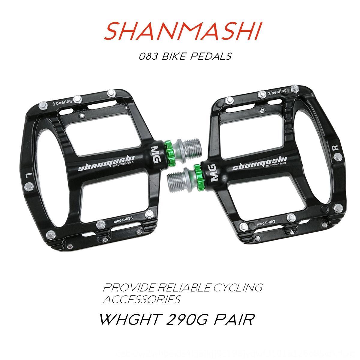 3Bicycle bisiklet dağ bisikleti pedalı BMX pedalı zarar ayakkabılar alaşım Shan Teyze 083 magnezyum