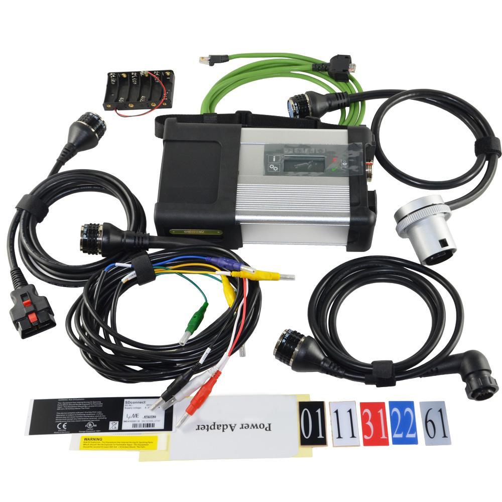 MB STAR C5 MB SD Connect Diagnóstico compacto C5 STAR con WiFi para Benz Car Truck Software HDD 2021.03
