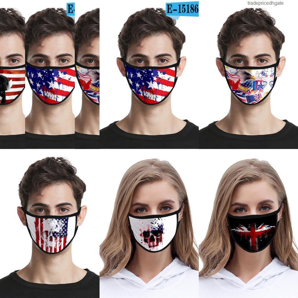 Хлопок Многоразовый моющийся Рот Доставка Дизайн Er Дизайнер маска льняной маска # Ridg O892