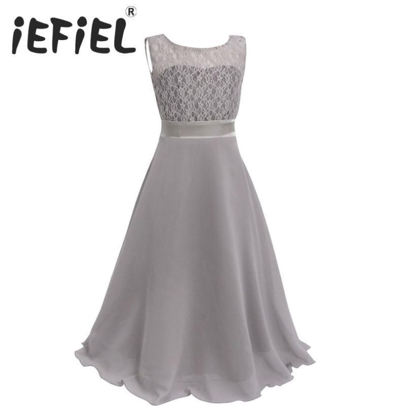 iEFiEL bambini abito floreale Ragazze di partito vestiti da sposa con cintura Infantil abiti da bambino per le ragazze dei bambini i vestiti del bambino Girl Dress