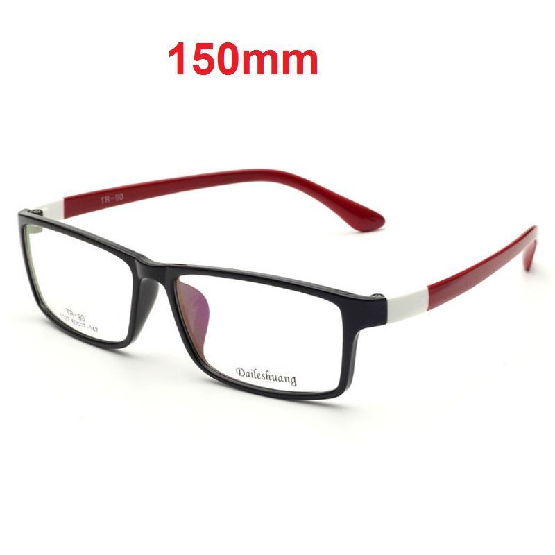 CUBOJUE 150 milímetros Oversized Óculos Homens Mulheres Óculos Frames Grande homem da face da prescrição Espetáculos TR90 Miopia dioptria de Óculos