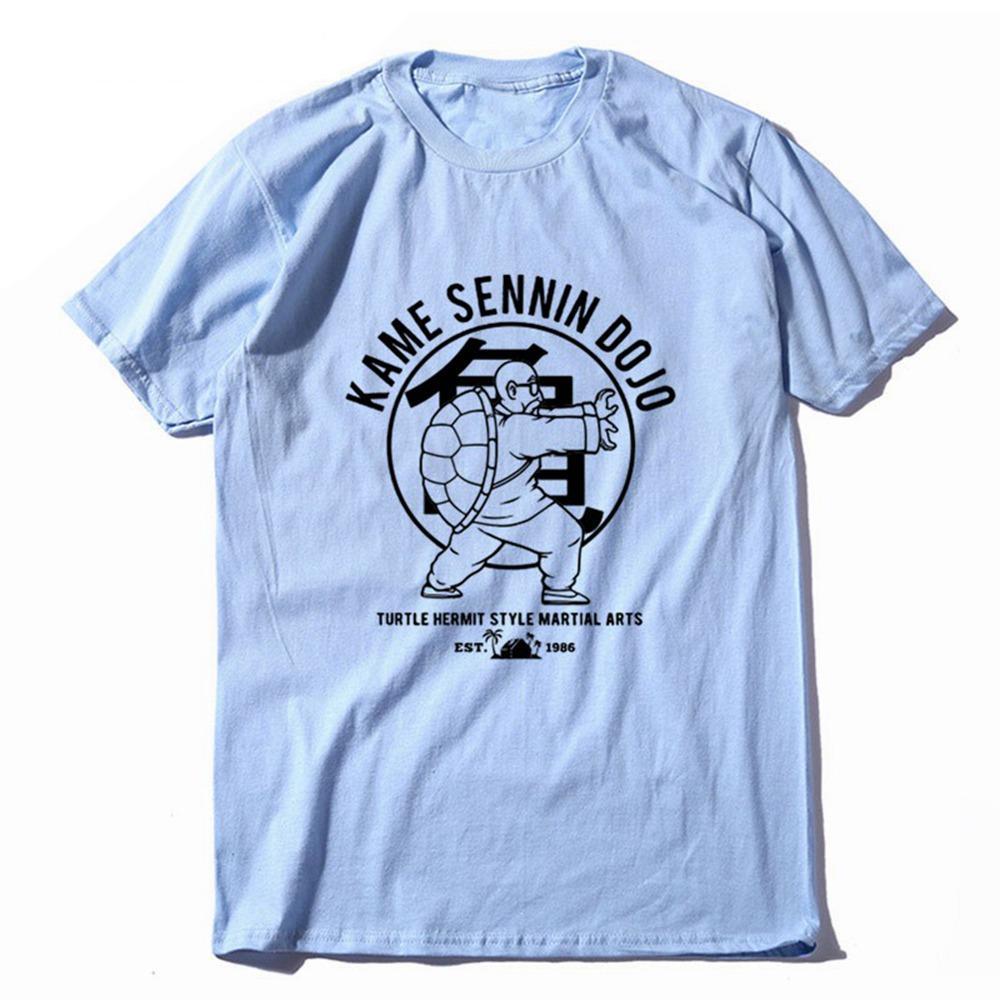 Impression de remise en forme classique hommes T-shirt Kame Sennin en vrac hommes T-shirt ras du cou Dragon Ball Discount T-shirt T-shirt