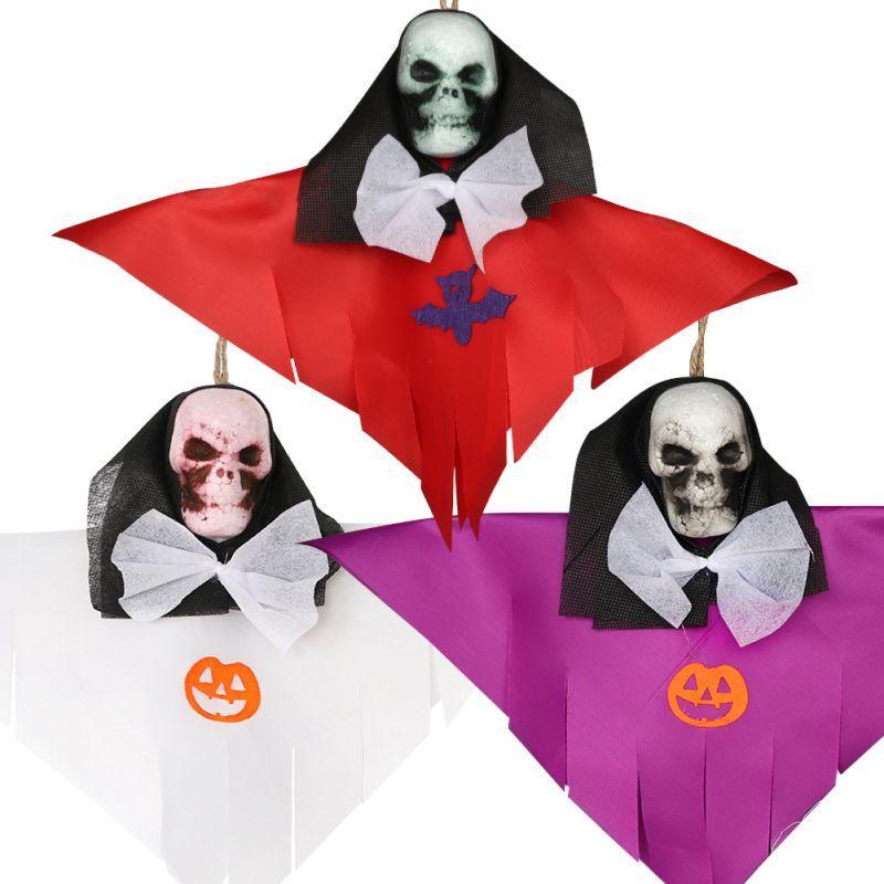 Mousse Skeleton Pendentif Props Halloween Fantôme festival Bar KTV scène mise en page Props Halloween Party Decoration