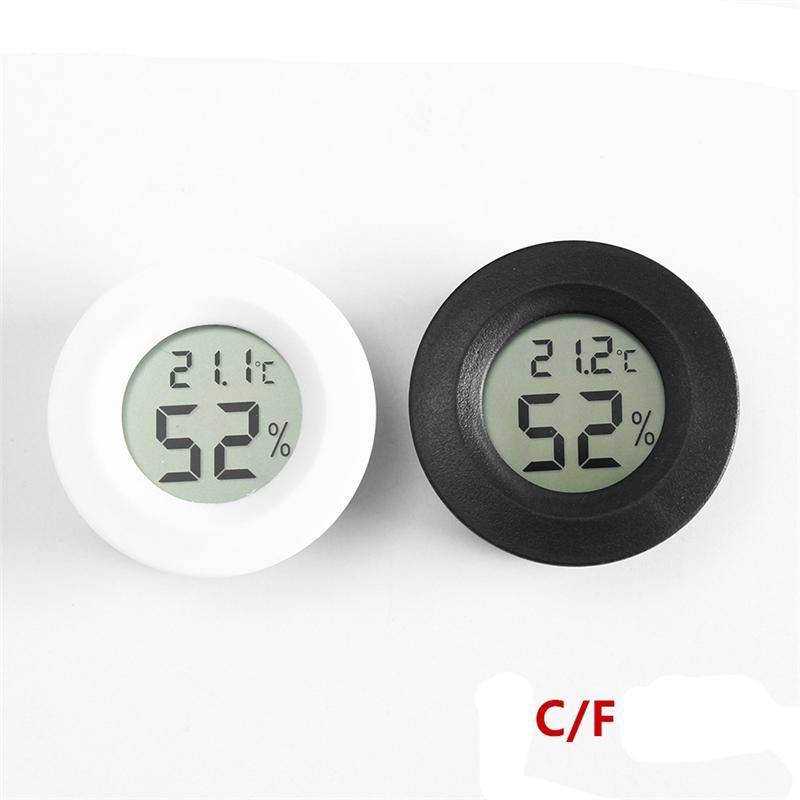 مصغرة LCD ميزان الحرارة الرقمي الرطوبة درجة الحرارة الرطوبة متر كاشف المرسام الحراري فهرنهايت / مئوية لمدة الحيوميدور الرئيسية JK2008KD