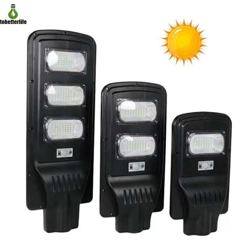 JD-LED-Solar-Straßenlaterne PIR-Bewegungssensor 20W 40W 60W-Steuerung IP67 wasserdichtes Außenstraßenlicht mit Montagestange