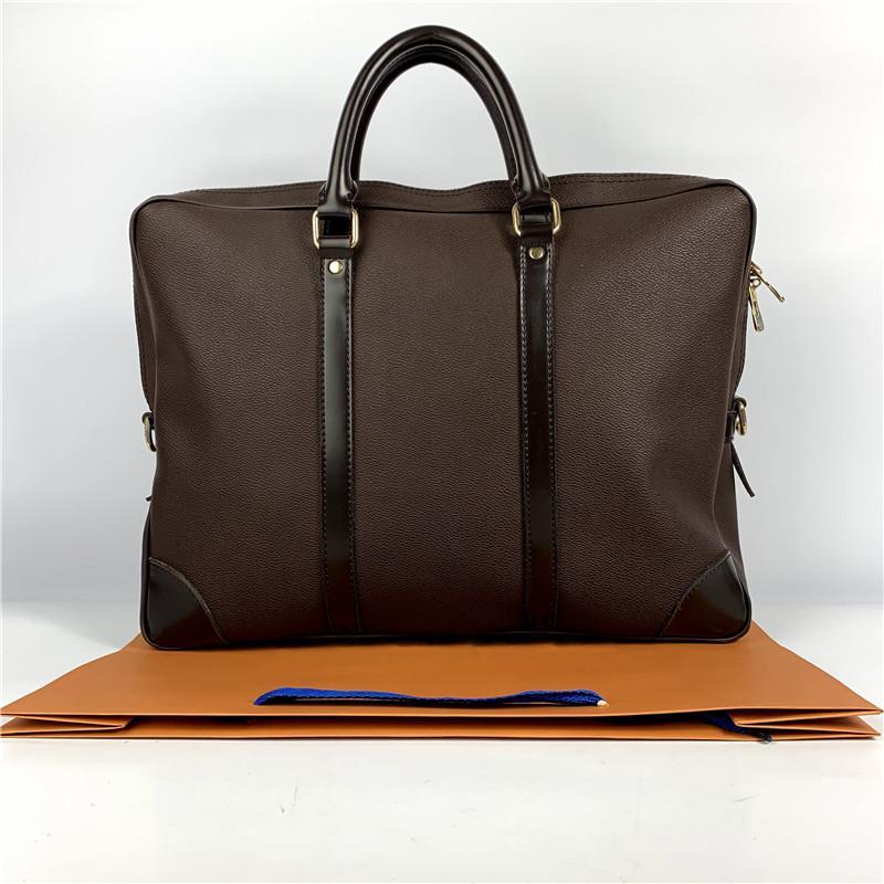 sacs d'affaires de haute qualité Hommes concepteur cuir véritable porte-documents tricotés à la main sacs pour ordinateur portable d'affaires des hommes de Sac