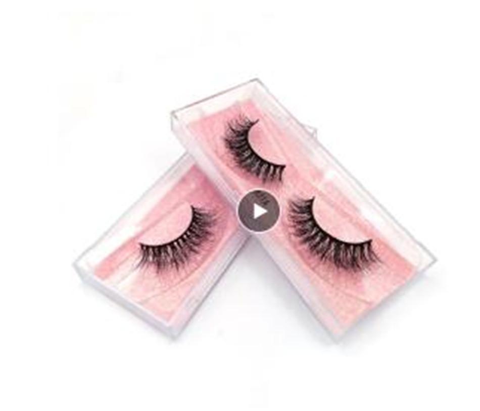 Nouveaux Fluffy 3D Cils Mink Lashes Maquillage complet Strip Lashes Cruelty Lashes Gratuit luxe Vison Cils Maquiagem cilio faux cils
