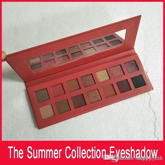 K Kozmetik 2018 Summer Collection Göz Farı Paleti K 14 Renk Yaz Koleksiyonu Göz Farı Pudra Paleti