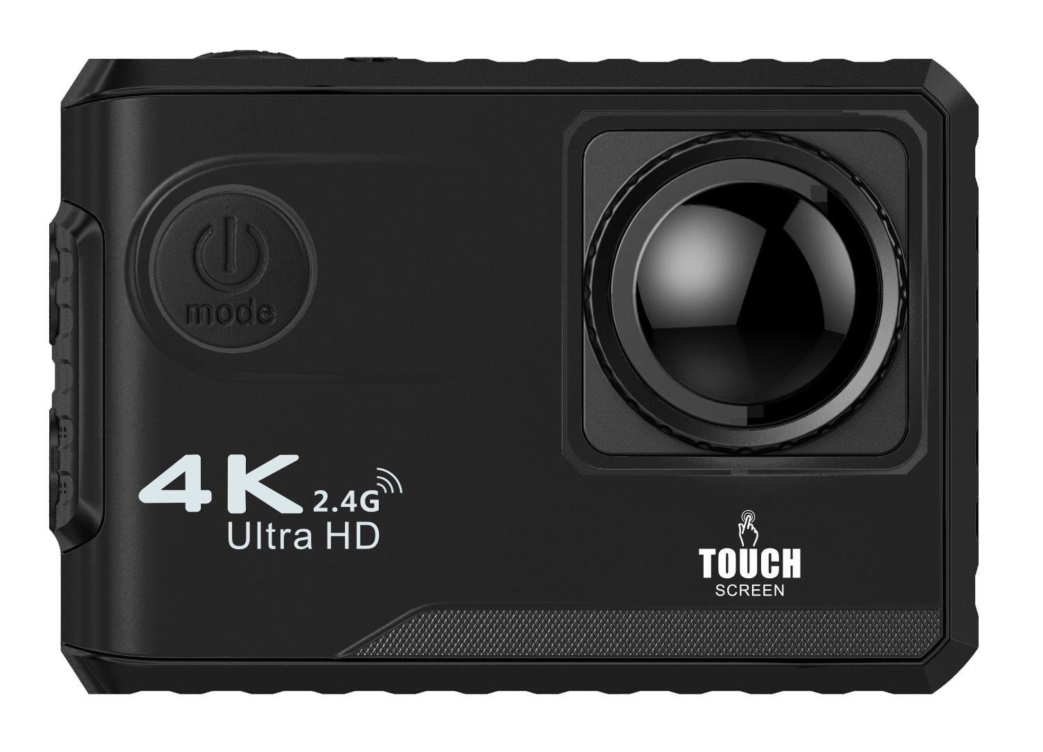 """Soocoo F100B الرياضة للماء كاميرا 4 كيلو hd عمل 2 """"شاشة تعمل باللمس wifi 1080P كامل HD 170 درجة كاميرات الرياضة"""