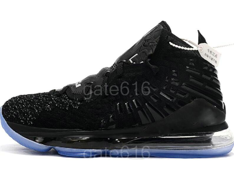2020 Nueva LeBron VII 17 zapatos de baloncesto de los hombres hombre, Santiago, 17 más que un juego Hombre al aire libre zapatos atléticos Deportes 7-12 b16