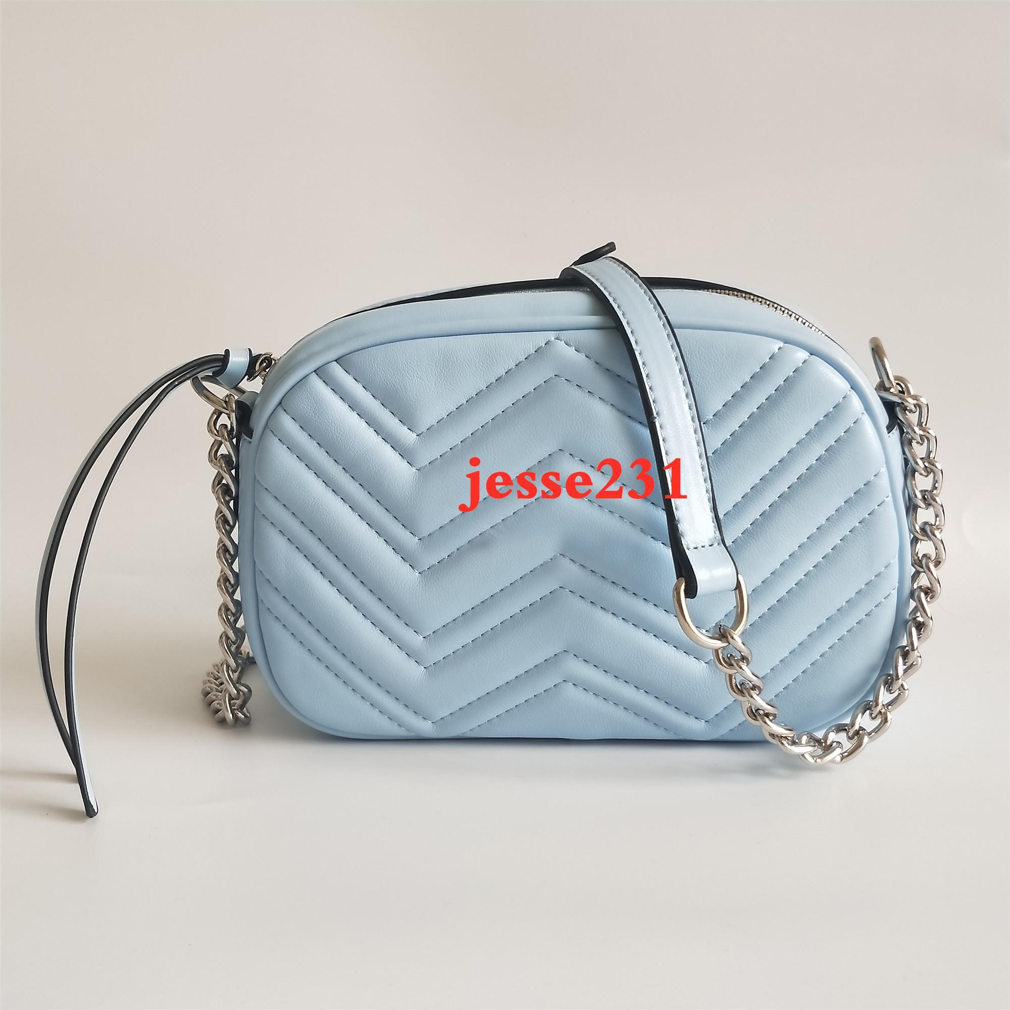 Yüksek Kalite Yeni Stil Kadın Çanta Gümüş Zincir Omuz Çantaları Crossbody Soho Çanta Disko Messenger Çanta Çanta Cüzdan