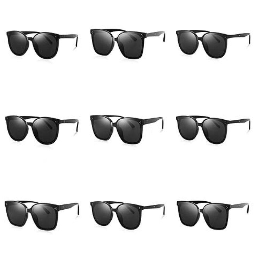 2020 Vintage Óculos Fashion For Womens Oversized Retro Sunglasses chifre de búfalo Óculos Homens Sun Glasses Masculino Com Lunettes # 697