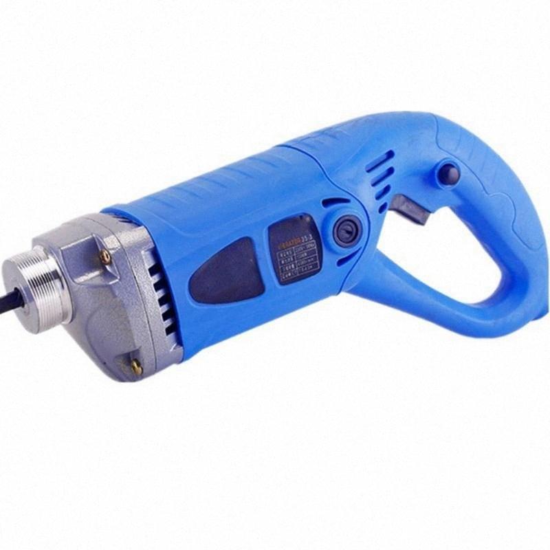 220V portátil hormigón varilla vibratoria 800W / 1300W Herramienta Construcción pequeño vibrador Plug-in Herramientas vibrador de construcción 5ioY #