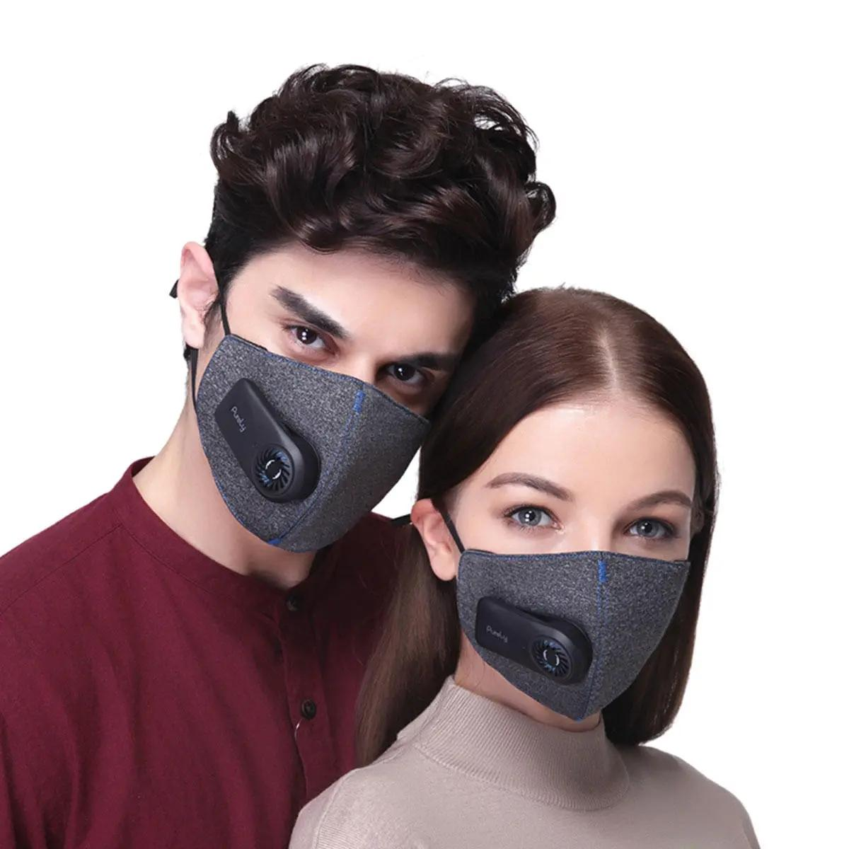في الهواء الطلق ركوب الدراجات قابل للغسل الفم قناع الوجه PM2.5 تصفية وتنقية الكهربائية للجنسين المشي لمسافات طويلة الجري