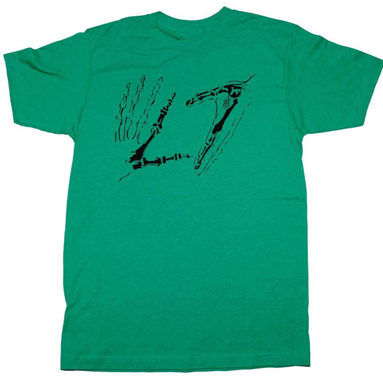 L7 Kafatası Eller Tişört Tasarım Pamuk Stil Tees Erkek Yenilikçi Üst Giyim Marka Üst Tee Sıcak Ucuz Erkek Karikatür