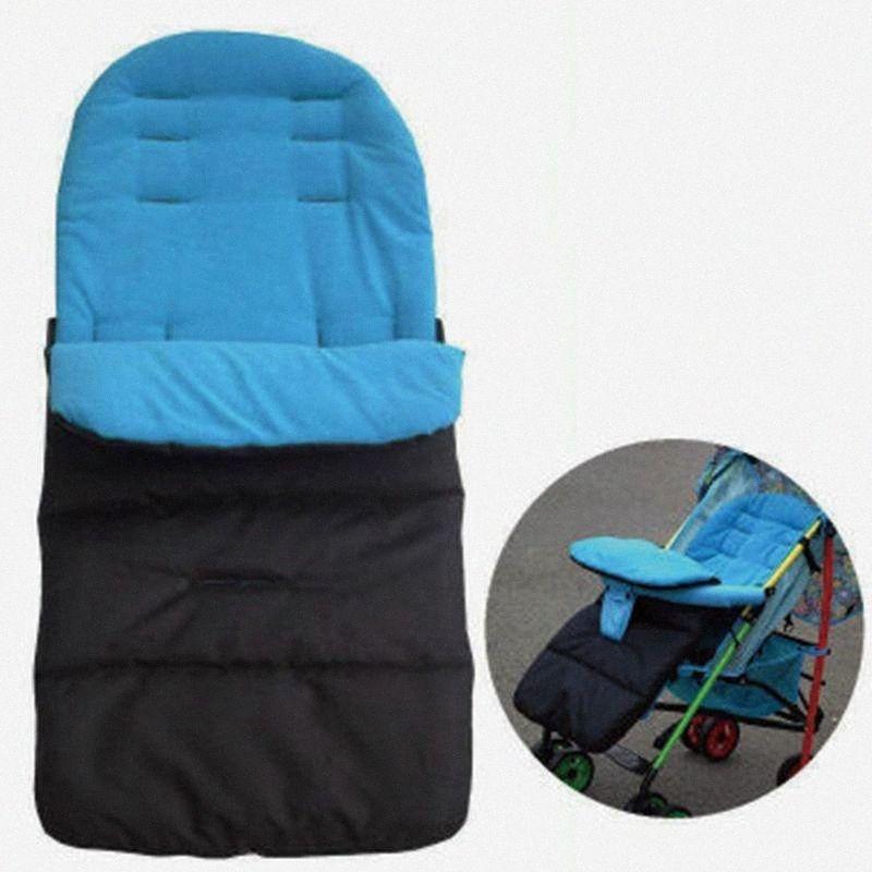 Inverno Passeggino Pad Piedi cuscino del sedile per bambini Coprire Passeggino Materassi Buste Sacco a pelo Accessori Ogil #