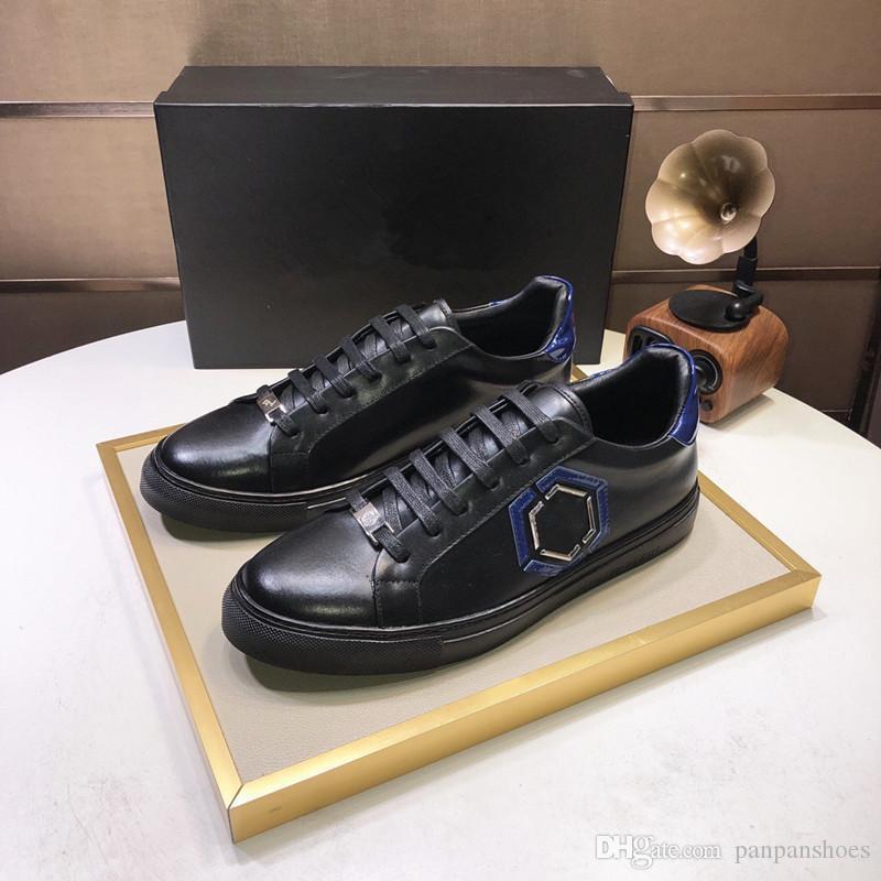 Sapatilhas de couro Mens Rhyton com a boca Yankees LA Angels de designers Womens Shoes desajeitado impermeáveis Casual Shoes cy19080705