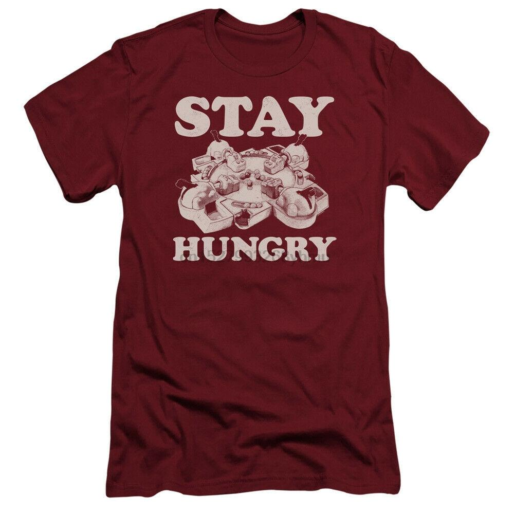 Hungry Hungry Hippos Slim Fit Camiseta estancia hambrienta cardenal Tee