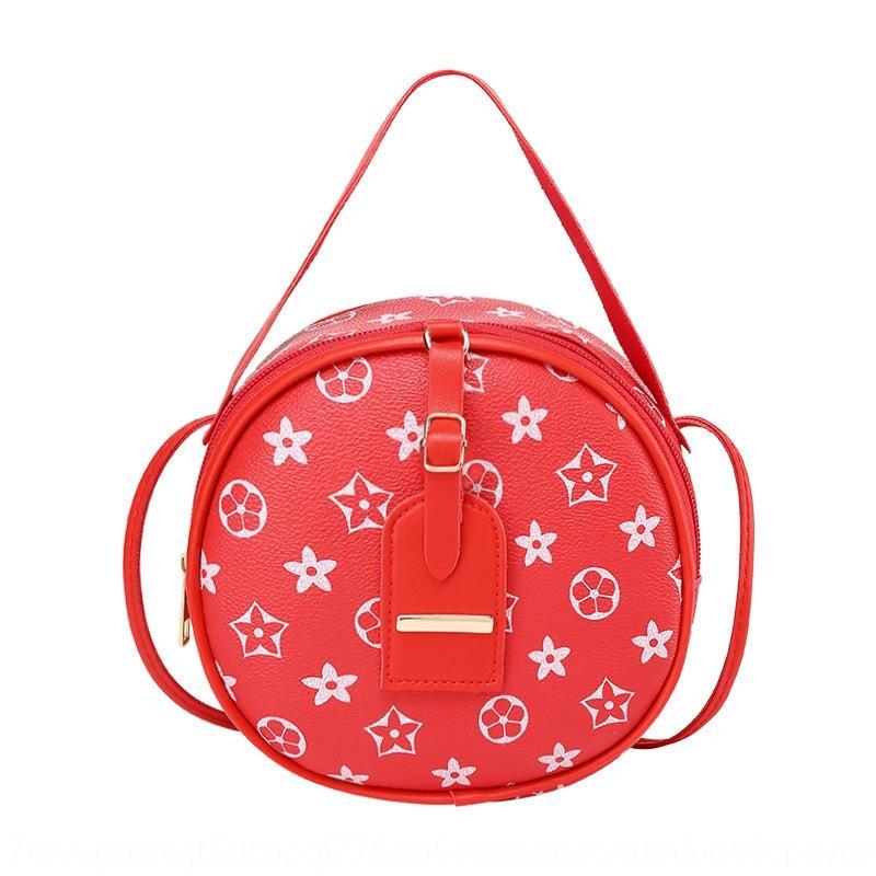 Kadın postacı El 2020 yeni haberci moda kadın El küçük yuvarlak çanta trendi küçük torbayı baskılı