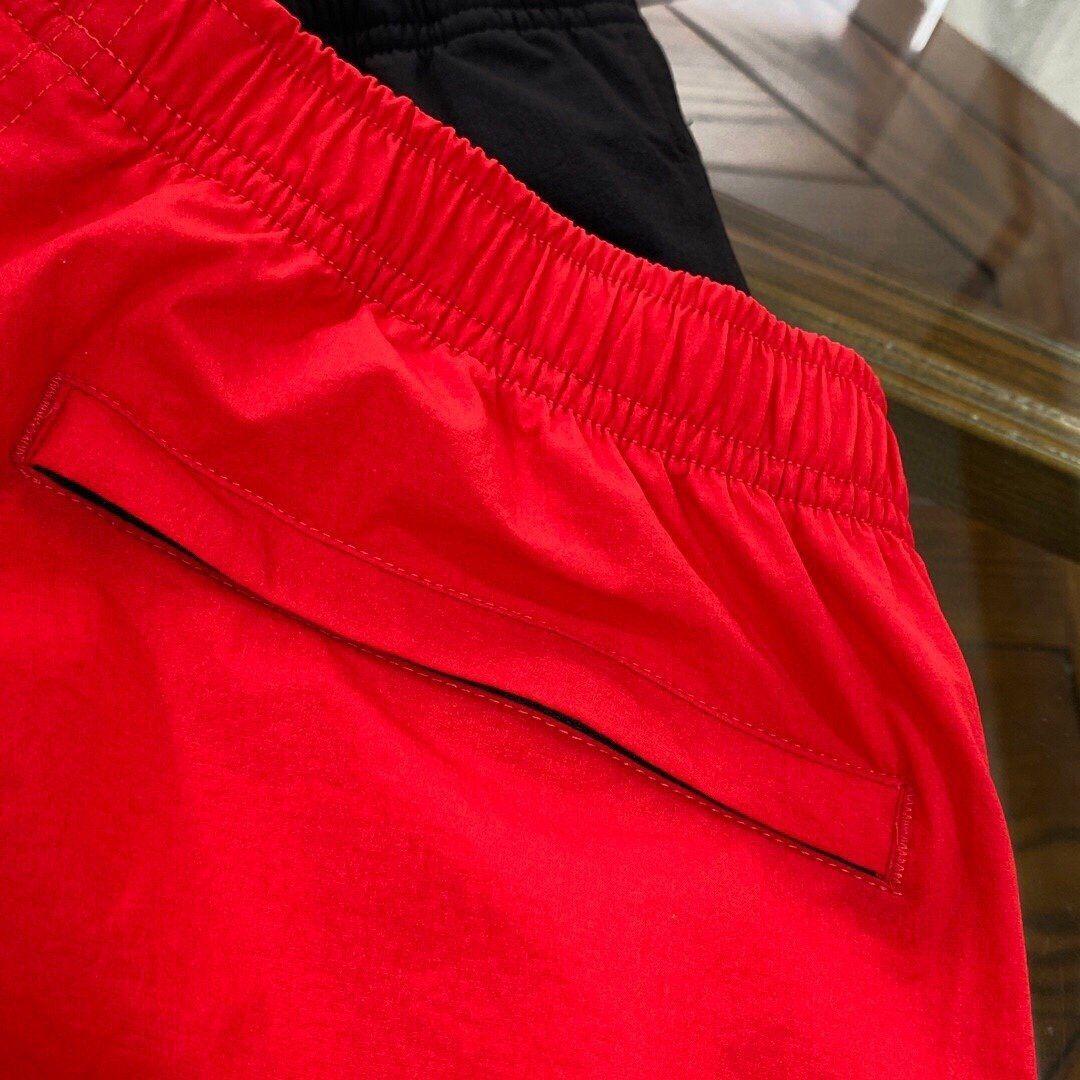 43875X wo lettera ricamato pantaloncini traspirante lettera traspirante 43875X uomini e donne con ricami diretti e pantaloncini