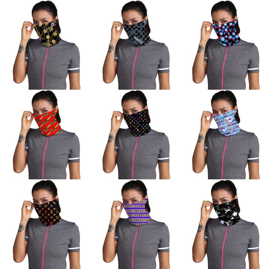 Yüz Maskesi Yıkanabilir Amerikan Seçim Baskı Toz koruyucu Maskeler Açık Bisiklet Boyun Magic Eşarp Bandana Tasarımcı Bisiklet Maske # 285 # 977 # 337