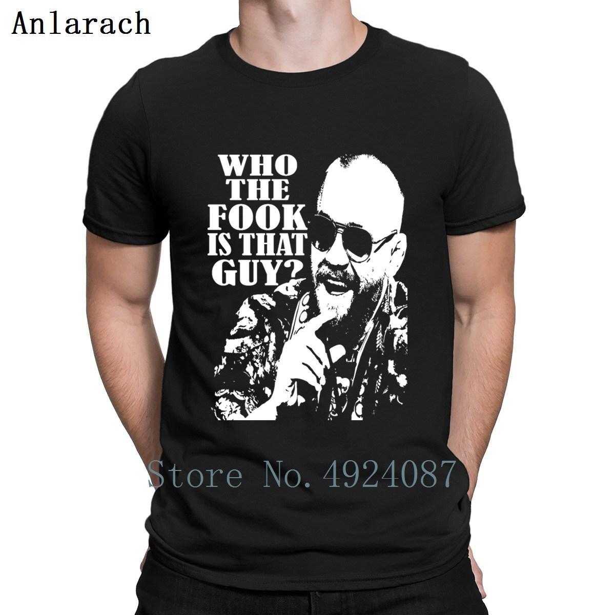 Chi Il Fook è che Guy T Shirt personalizzata O-Collo Hip Hop Classica Mens Streetwear camicia poco costosa maschio Funky Primavera 2019