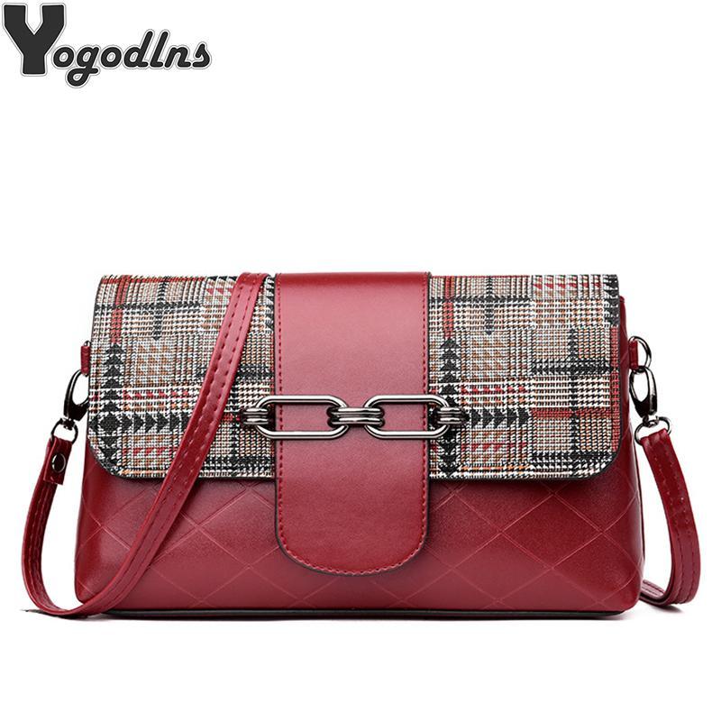 Женская мода плед Stripes пояса сумки на ремне сумки Роскошные женщины сумки Дизайнерские Новая мода Crossbody Сумки Мини Crossbody