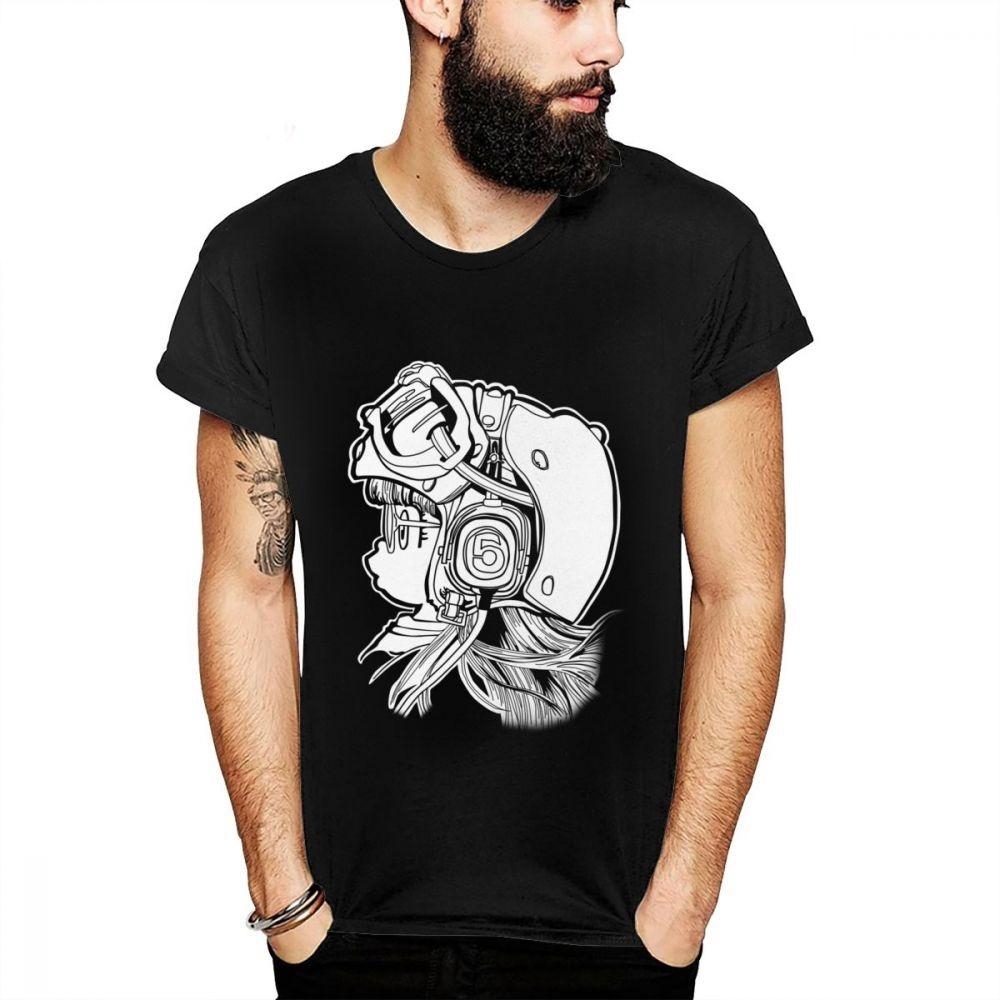 Novedad Dr Slump Arale camiseta masculina 2019 Nueva S-5XL del tamaño grande collar Homme Ronda T Shirts Unisex Tee Shirts Ropa