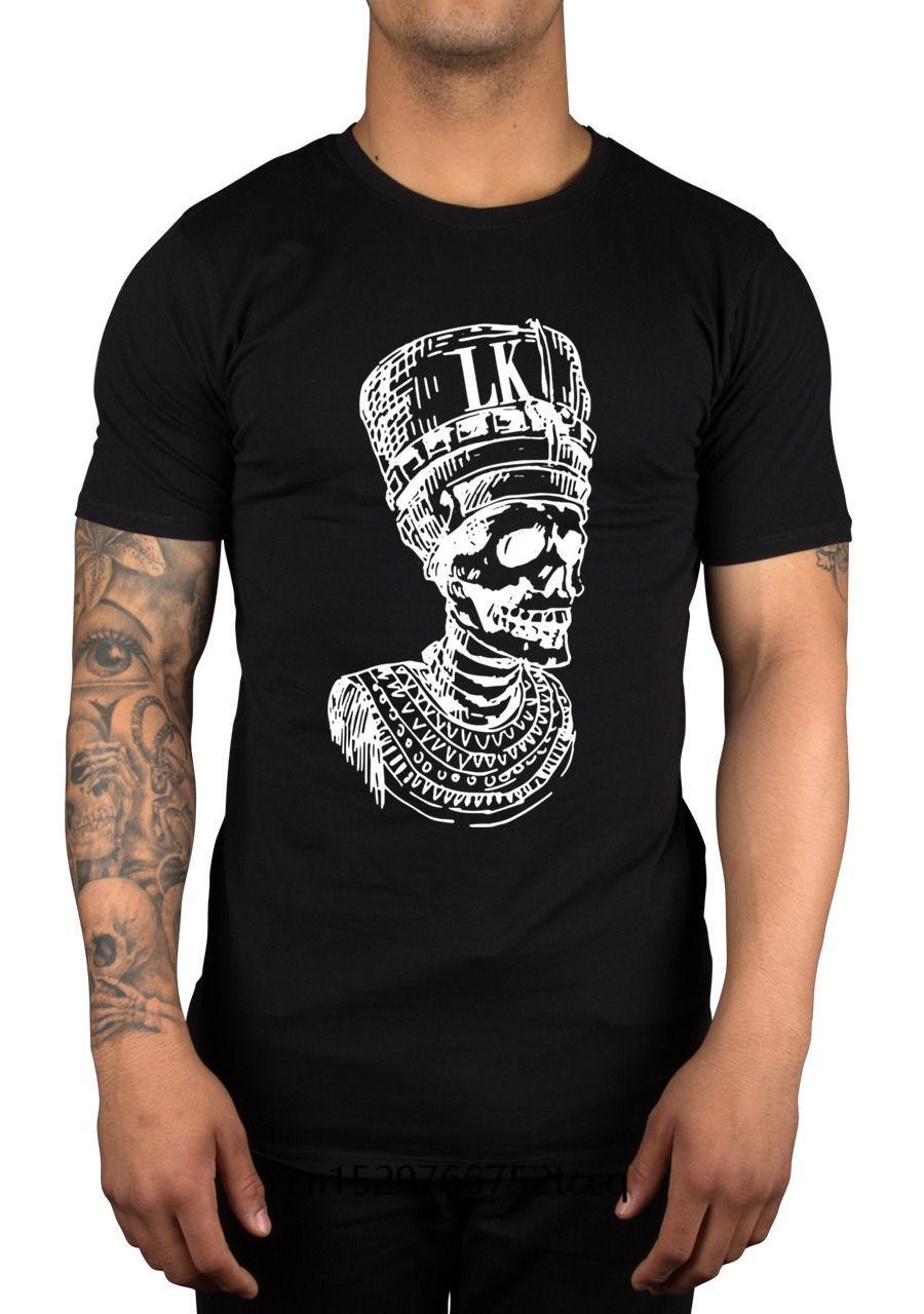 Homens de manga Impressão Curto T-shirt tendência Tyga últimos reis Pharoah Crânio YMCMB Cidade da cremalheira Jovem Roupa imprimir dinheiro camiseta