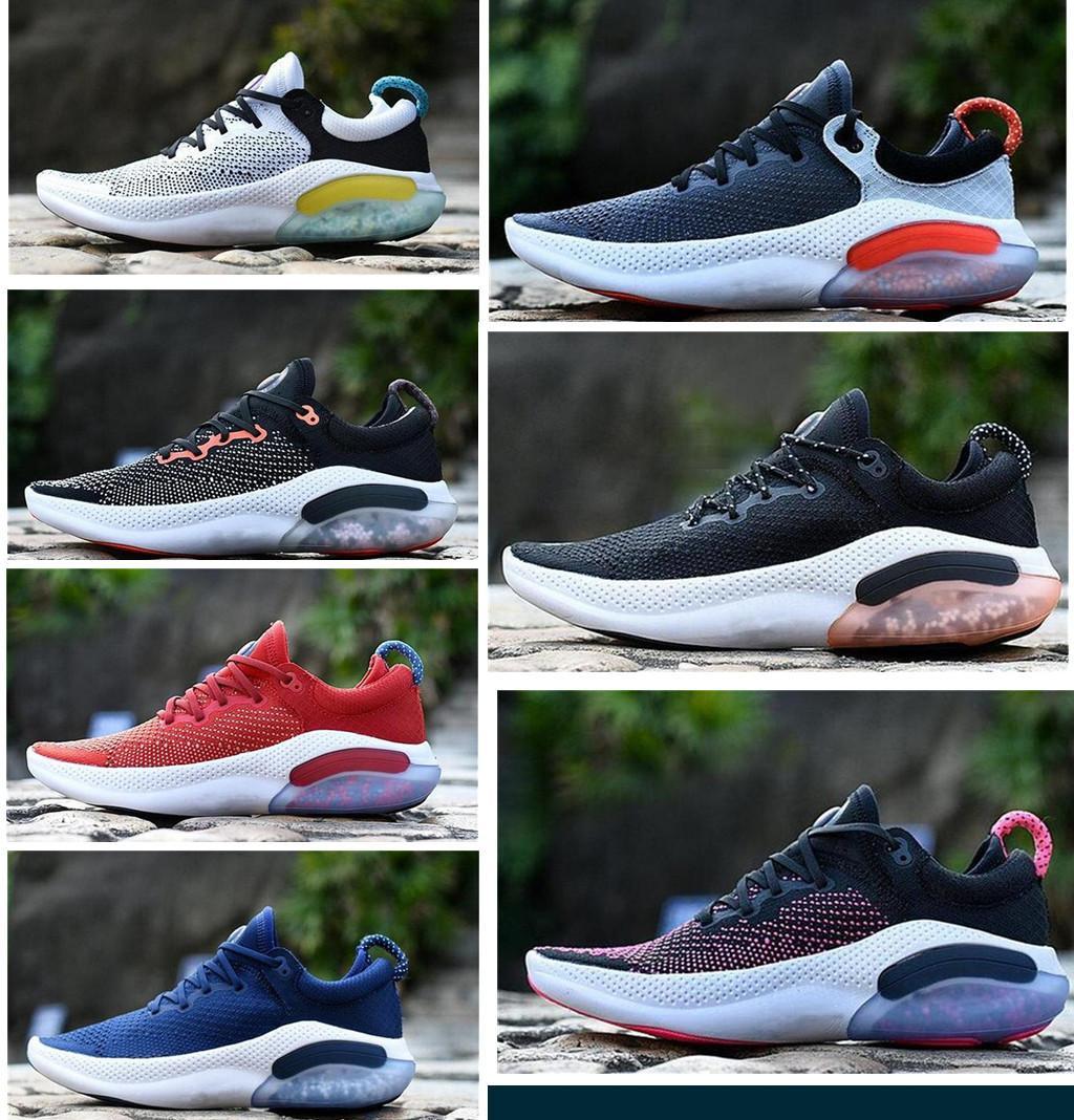 2020 Granül Parçacık Hava Yastığı Varış Joyride Run FK Erkek Bayan Üçlü Siyah Beyaz Koşu Ayakkabıları Platin Racer Mavi S Spor Sneakers