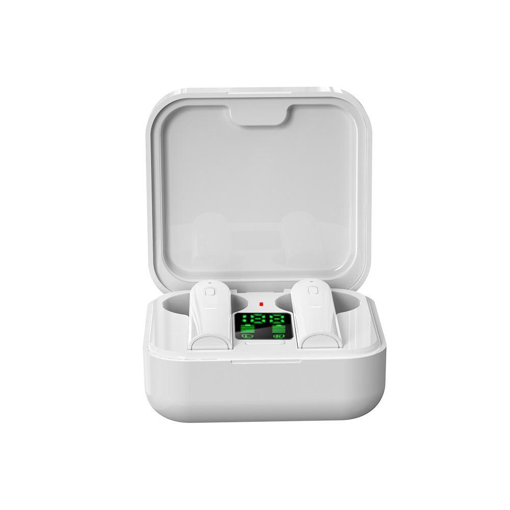 2020 mais novo carregador solar headset air6 mais TWS Bluetooth Headphone in-ear fones de ouvido bluetooth sem fio com display LED