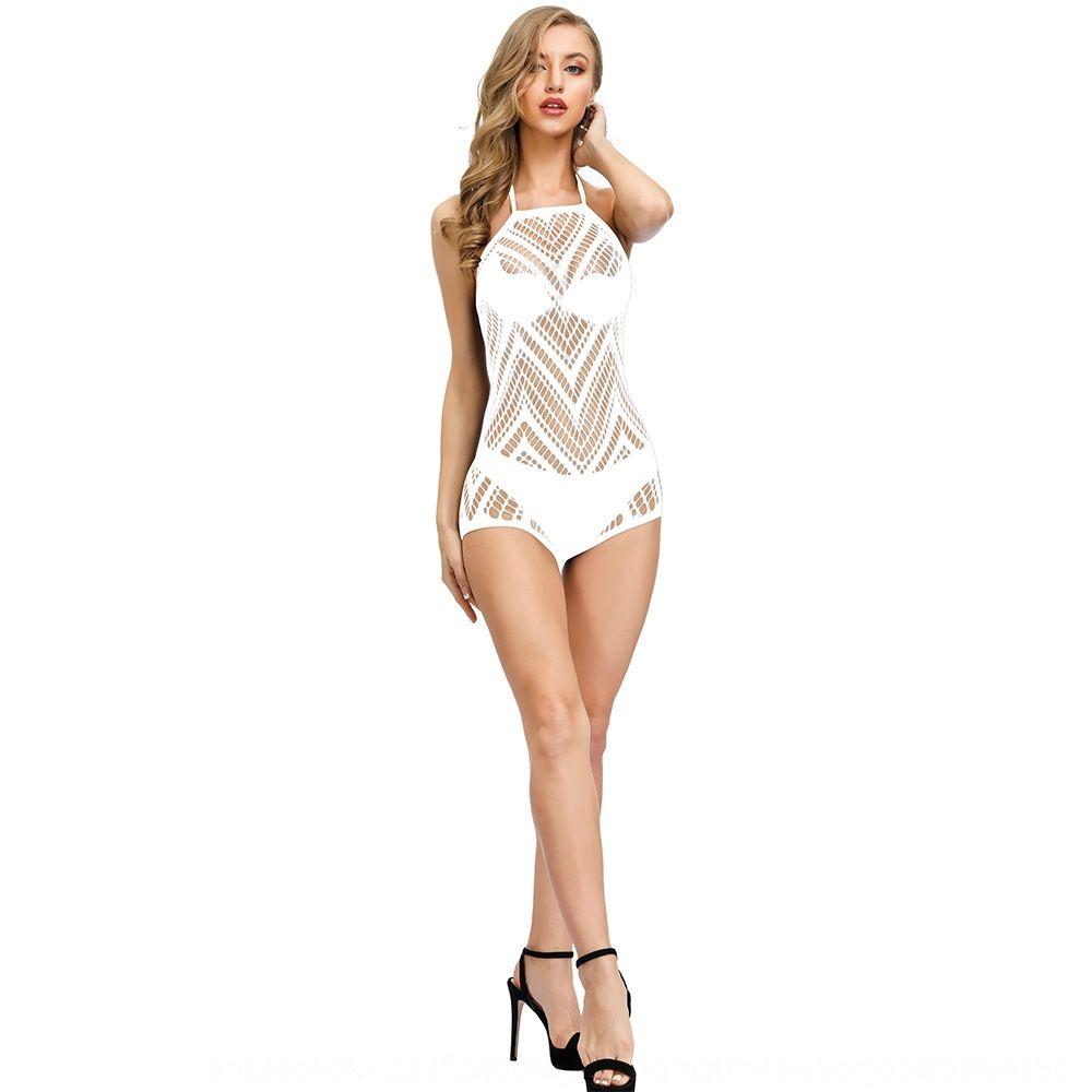 Seksi net giysiler dantel-up boyun sırtı açık w325 Seksi net giysiler Sling sapan asılı boyun Backless w325 bağcıklı asılı