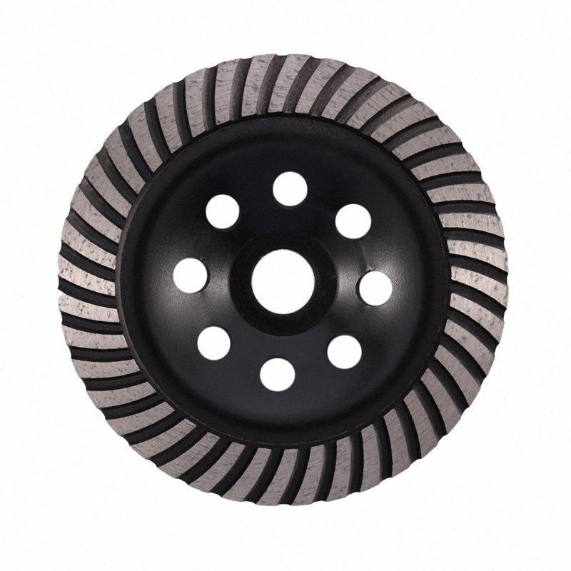 6-дюймовый Алмазная Turbo Row шлифовального Кубок Wheel Подходит для 7/8 дюйма Arbor Алмазный шлифовальный диск для бетона Кладка VJ8j #