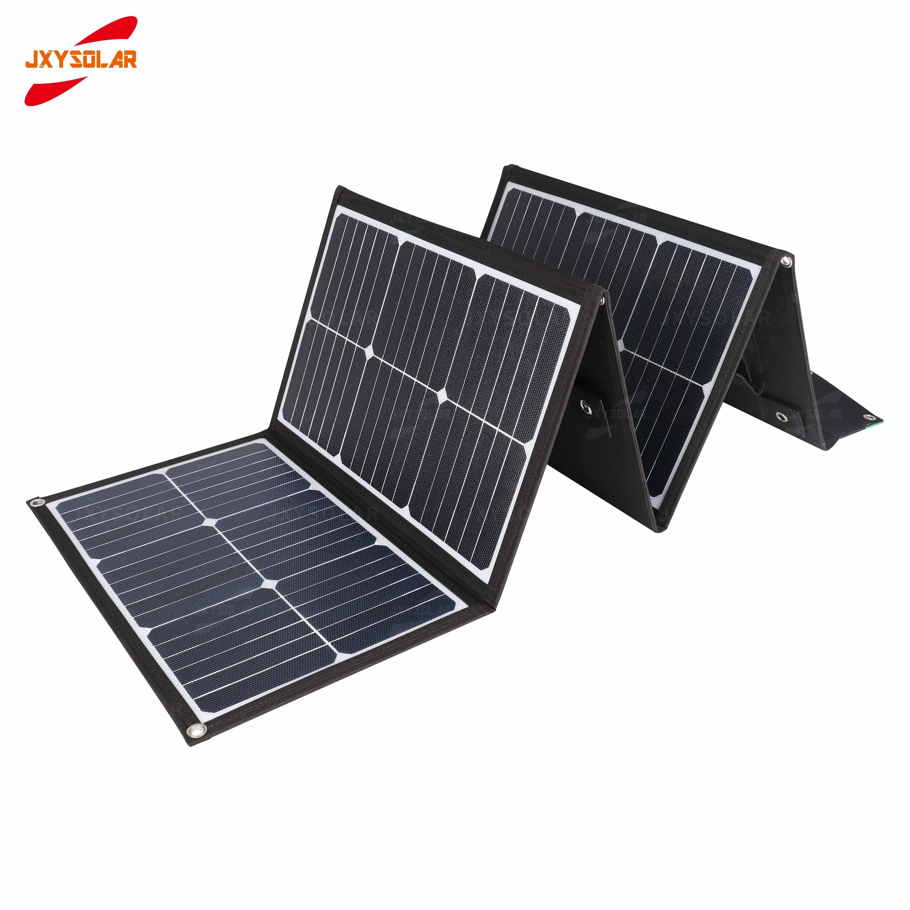 Factory Wholesale Popular Foldable Solar Panel Blanket Sunpower 150w Portable Folding Charging Kit For Outdoor Camping High Efficient Solar Panels Pv Solar Panels Qld From Jinxysolar 87 44 Dhgate Com
