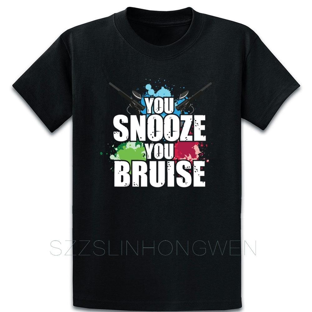 Você Snooze você Equimose camiseta normal Algodão Primavera Interessante shirt Formal cómico impresso sobre Tamanho S-5XL