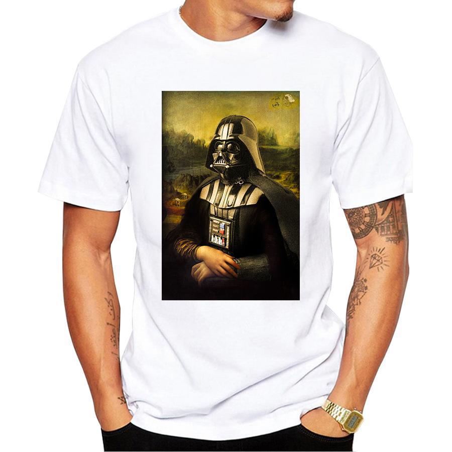 2020 drôle Darth Vader T-shirt Design Cool Maillot Homme Hauts tee-shirt Affiche du film T-shirt Harajuku Streetwear