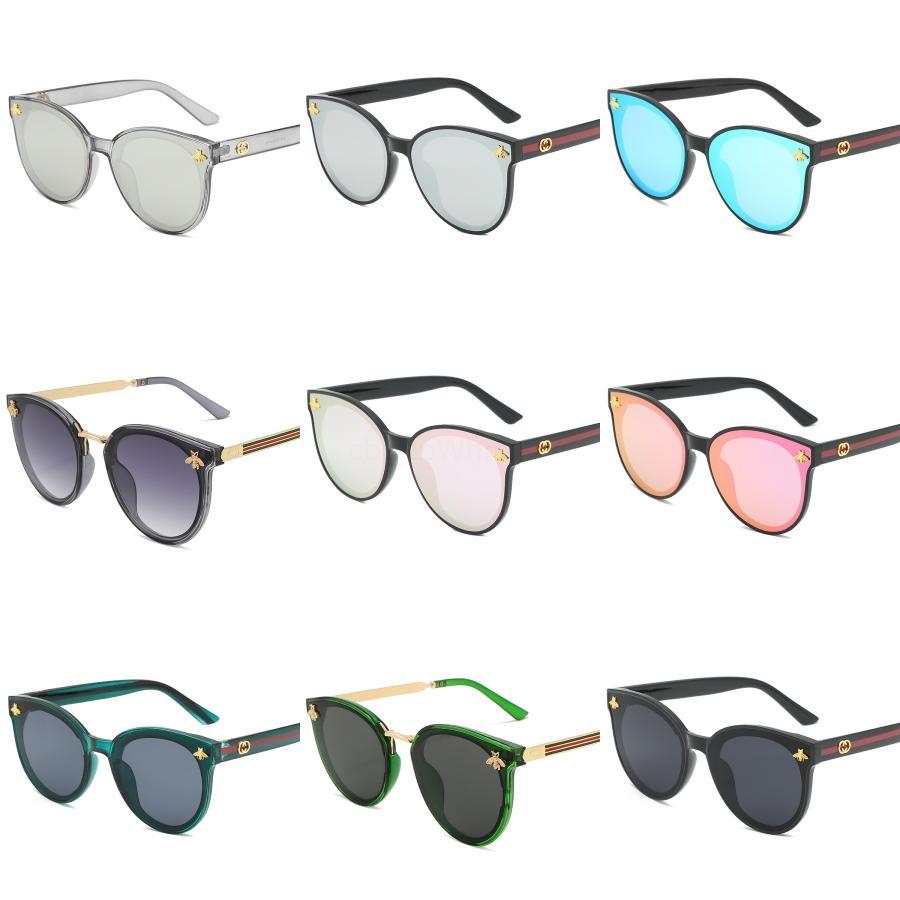 ALOZ MICC design di lusso Sunglassesvintage Piazza degli occhiali da sole donne Occhiali da sole Classic Irregolarità Eyewear femminile due colori Sun Uv400A5 # 274
